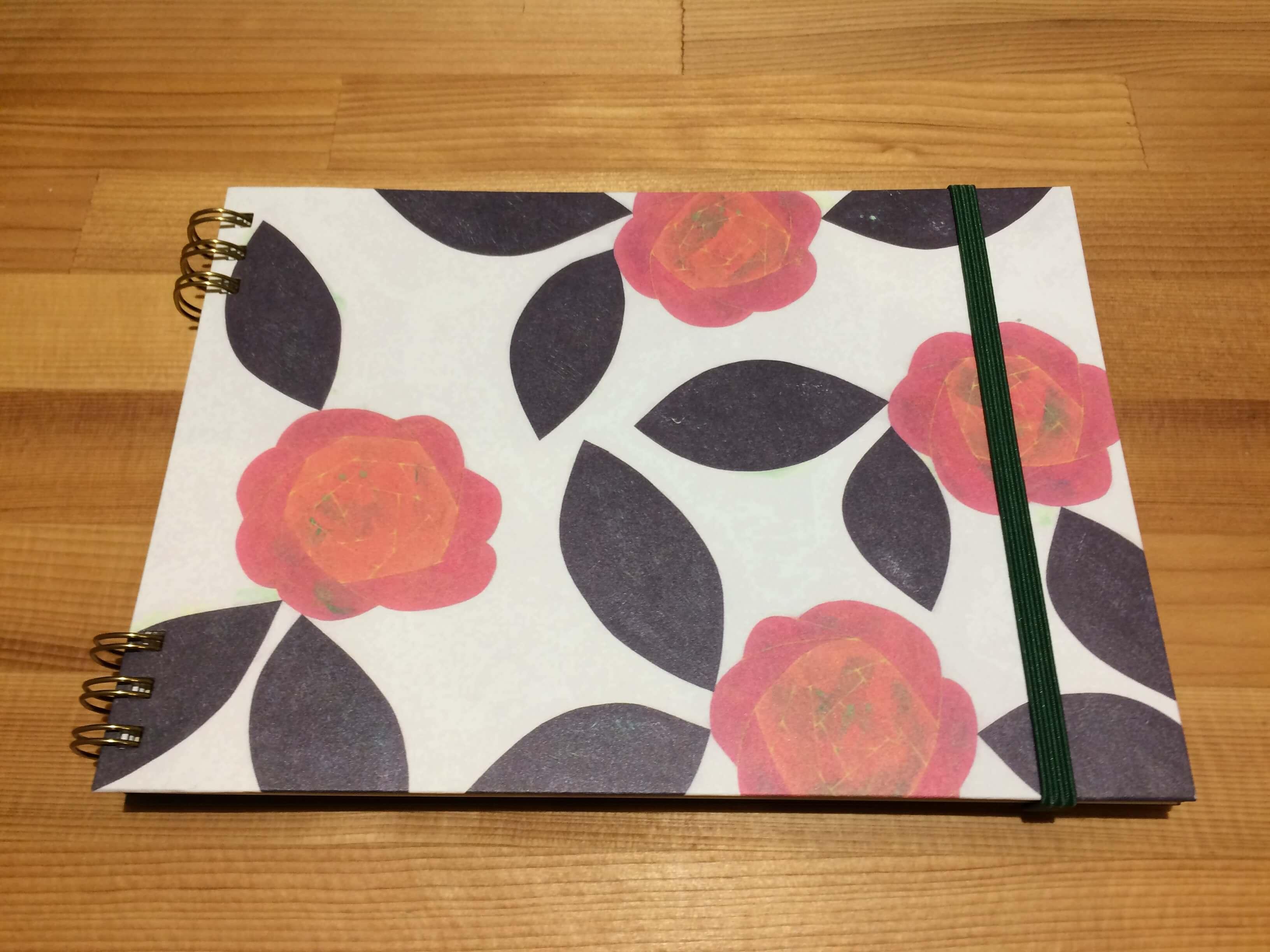 お花のノート