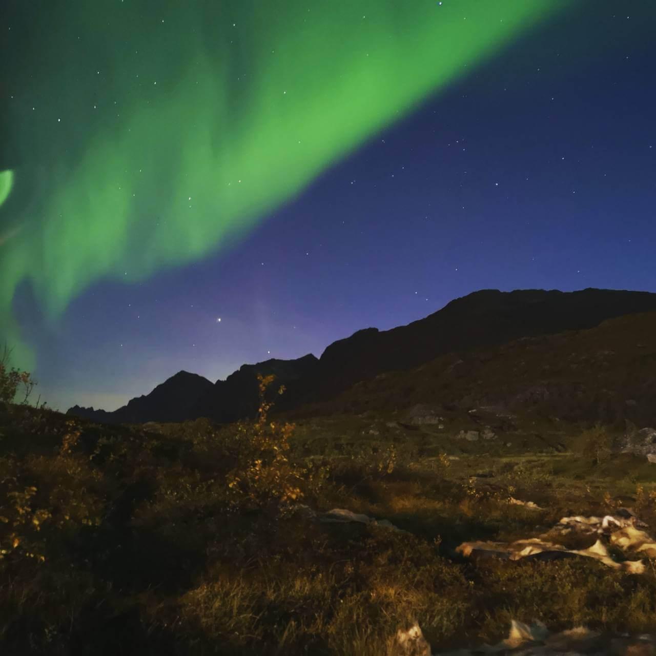 ノルウェー旅行3日目 北極圏の大自然の中でアウトドアウエディング