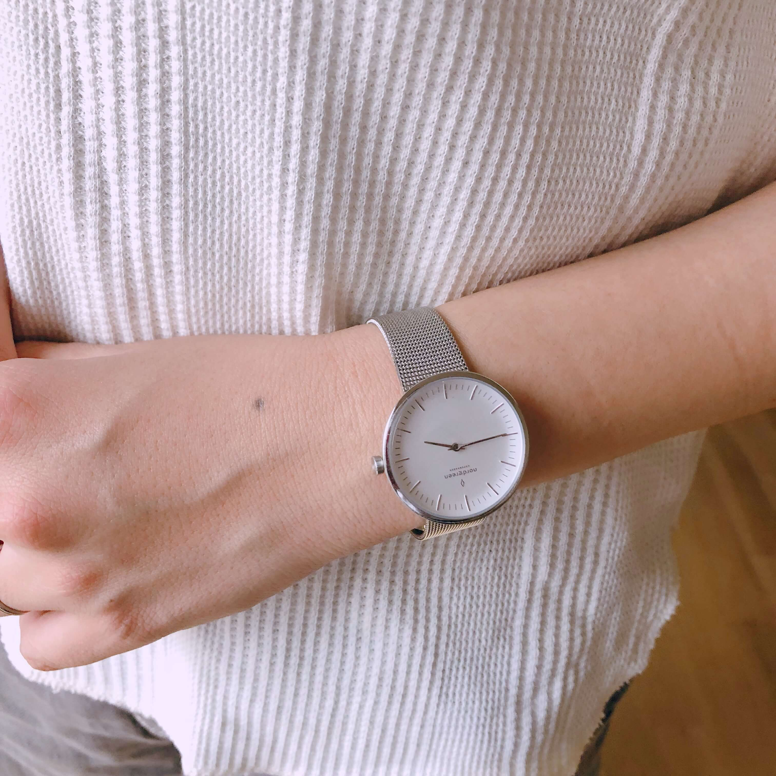 北欧の腕時計