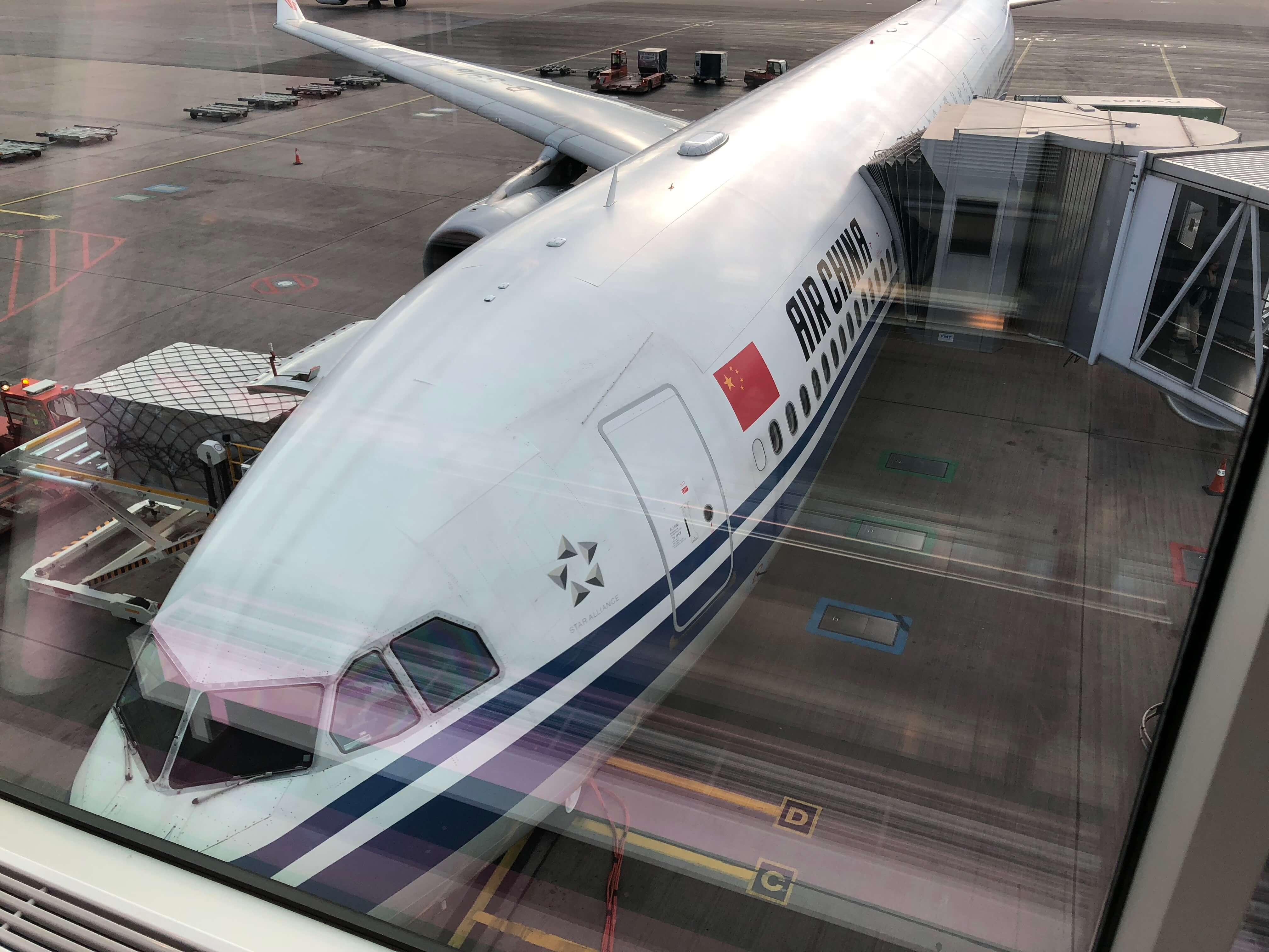 中国国際航空(エアチャイナ)の評判は?北京経由でストックホルム へ