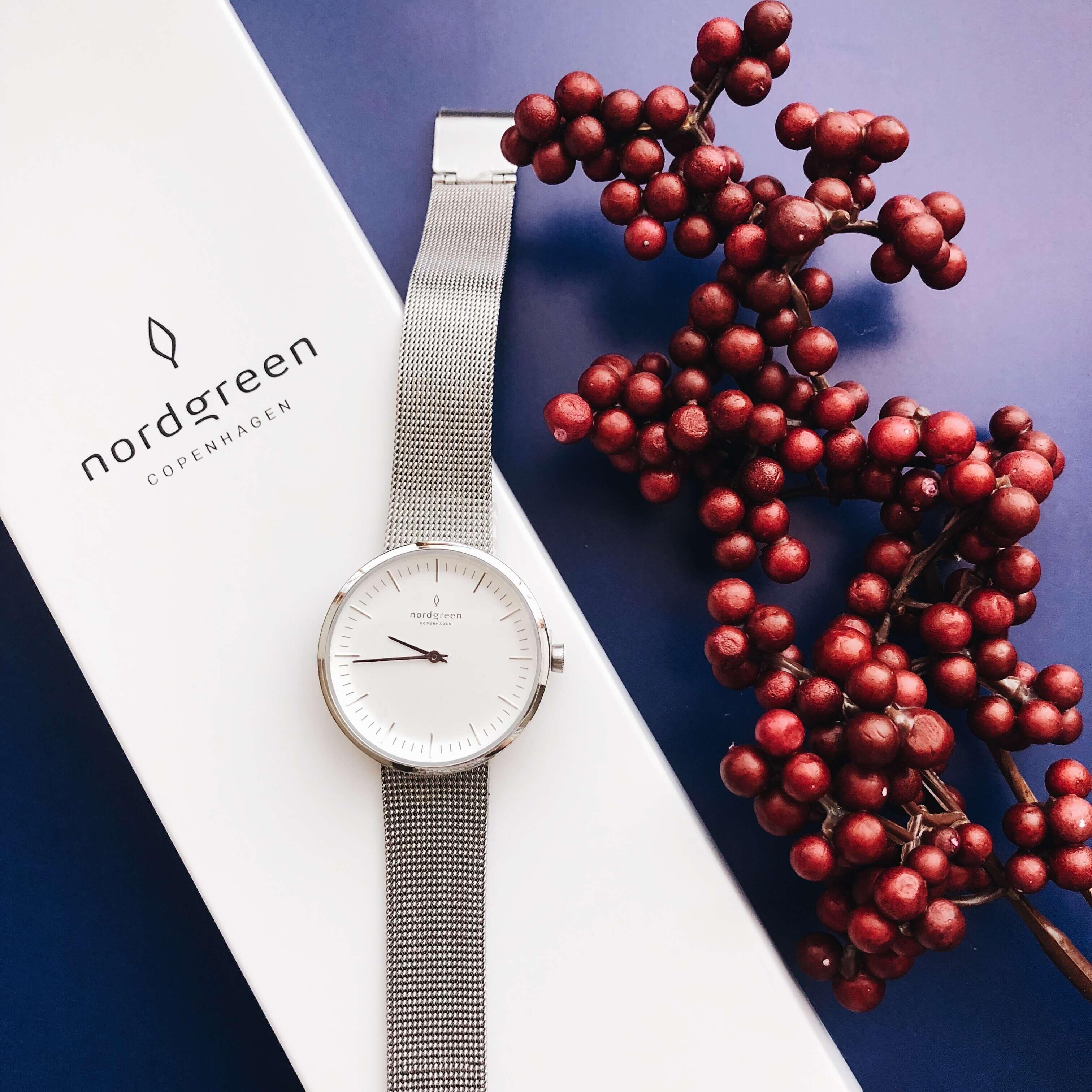 北欧デンマーク生まれのシンプルで美しい腕時計 Nordgreen(PR)