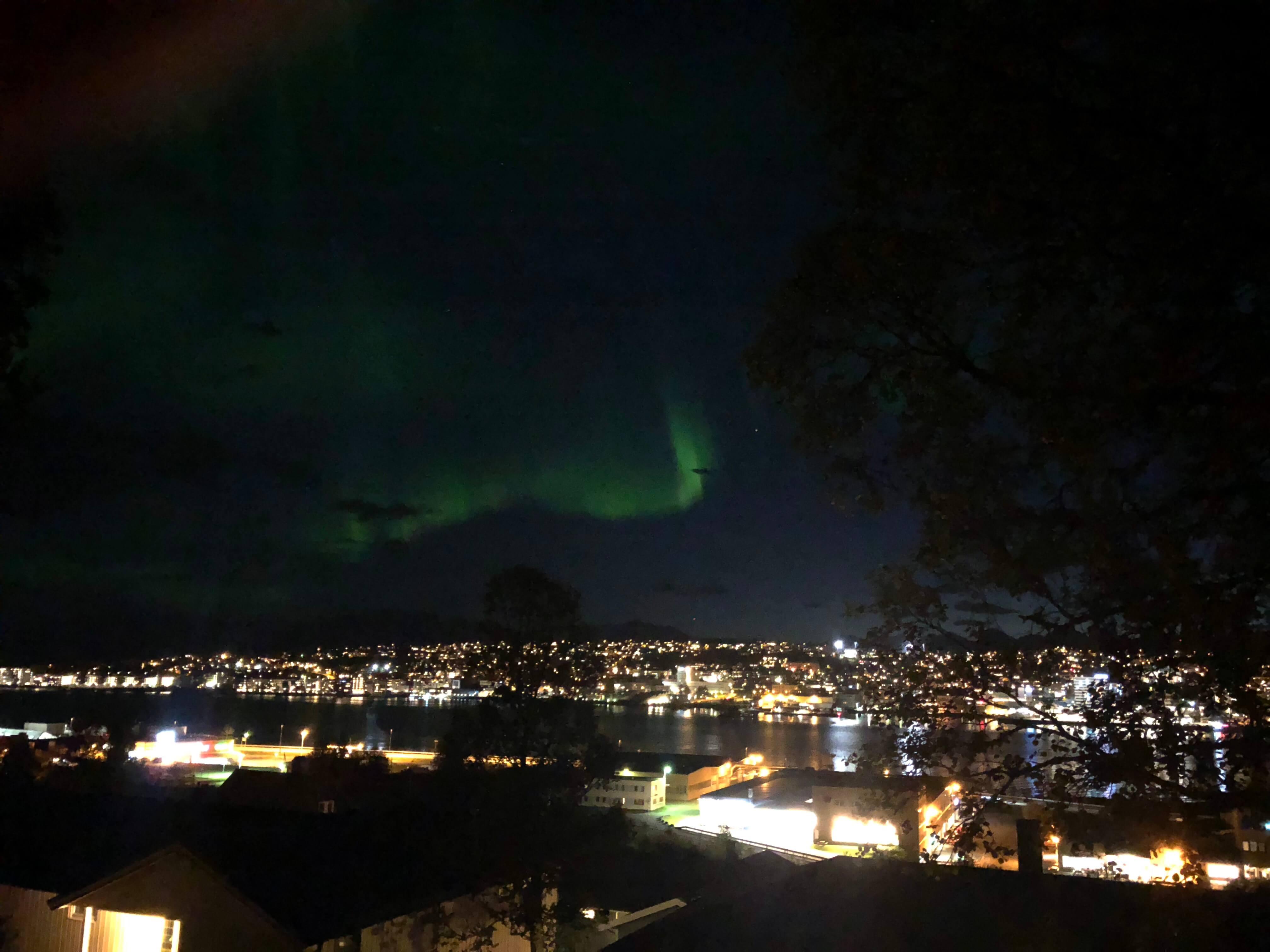 ノルウェー トロムソで9月にオーロラは見られるのか?! 実際に行って確かめてみた