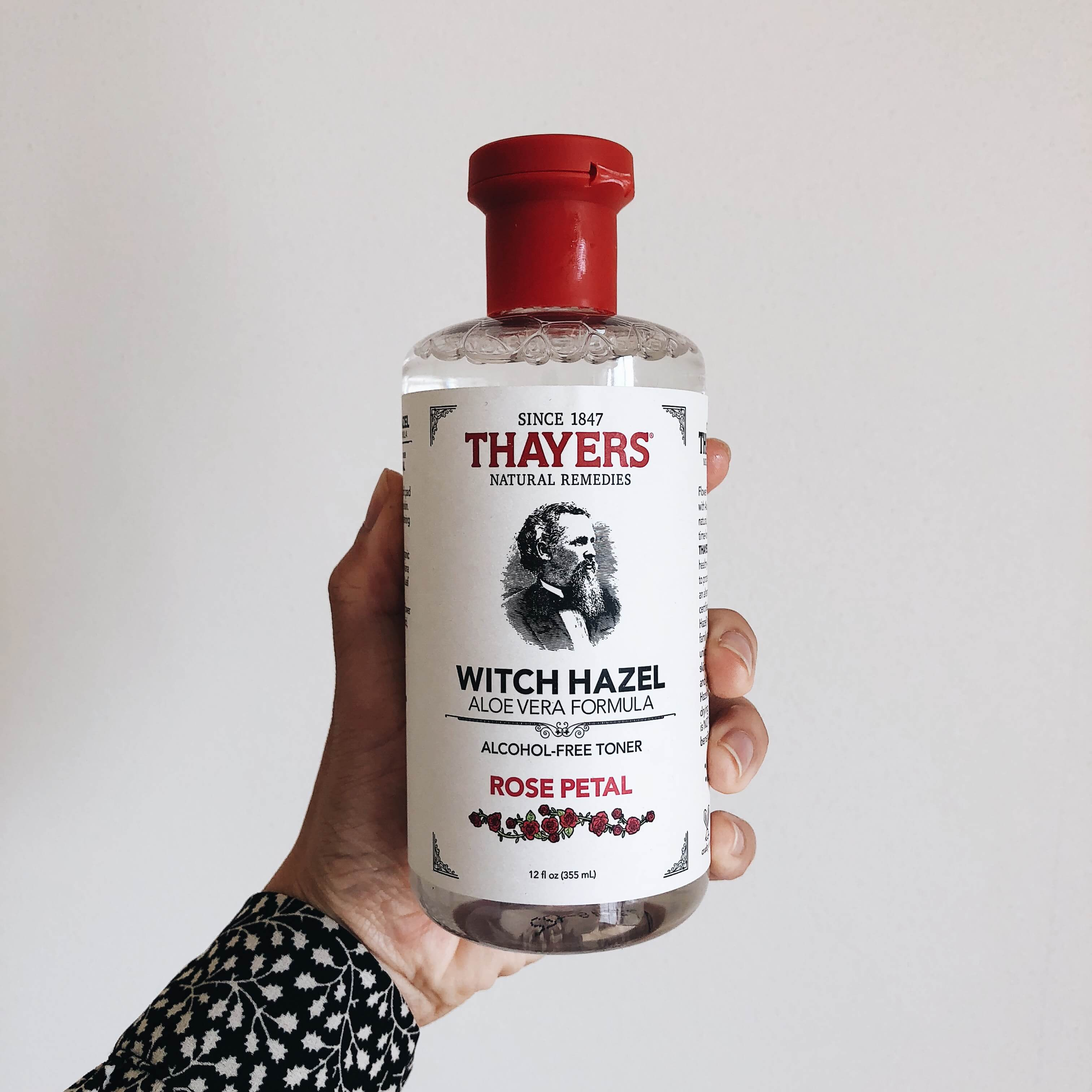Thayers, ウィッチヘーゼル(マンサク)アロエベラフォーミュラ, アルコールフリートナー