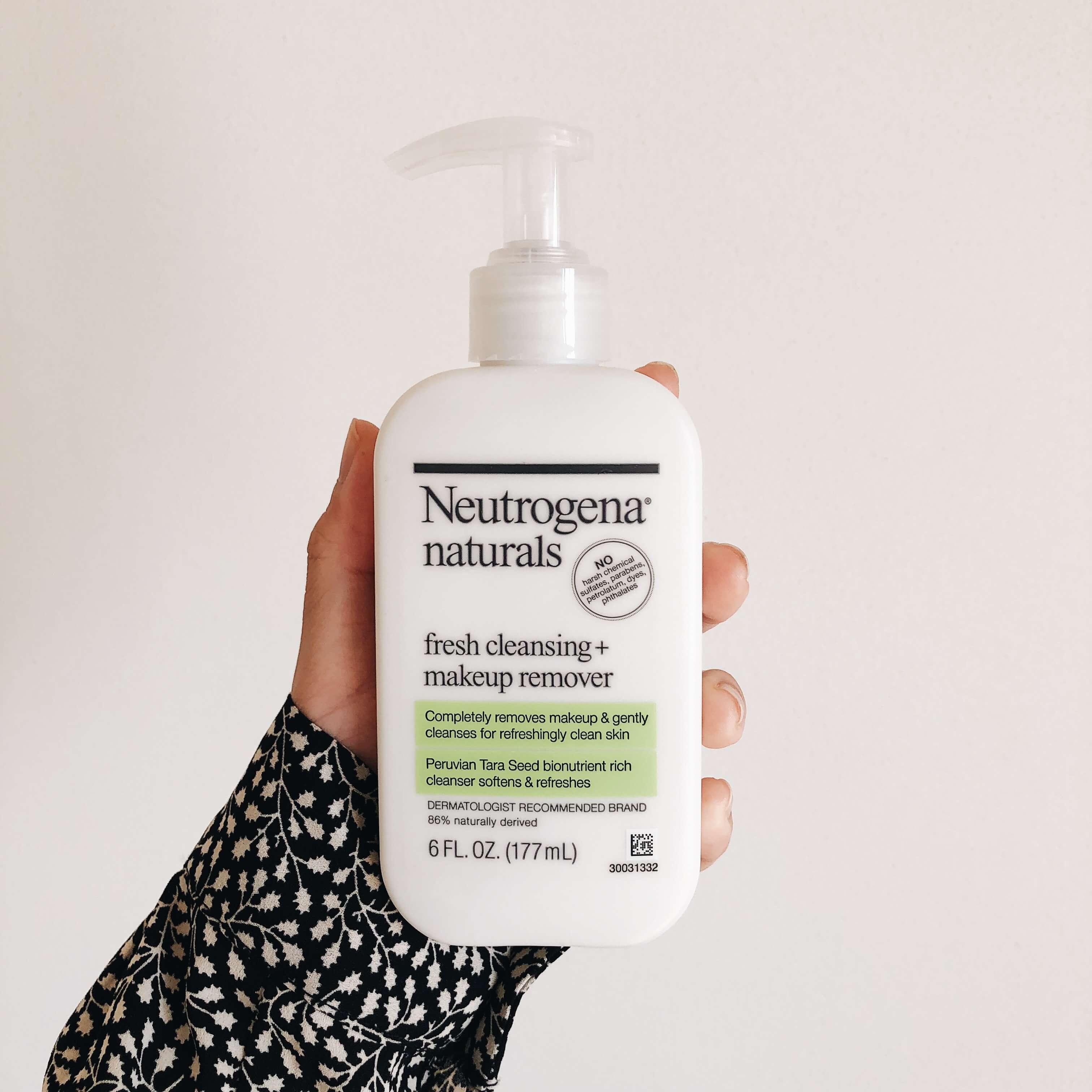 Neutrogena, フレッシュクレンジング + メイクアップリムーバー