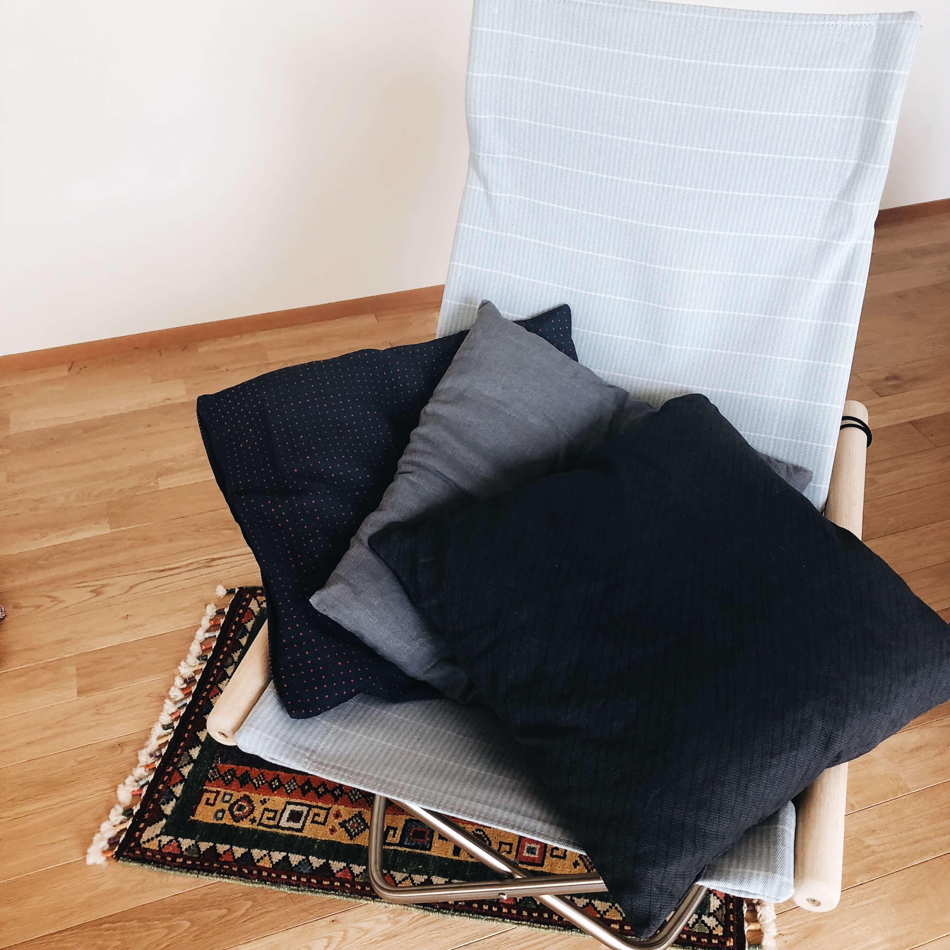 IKEAのクッションカバー